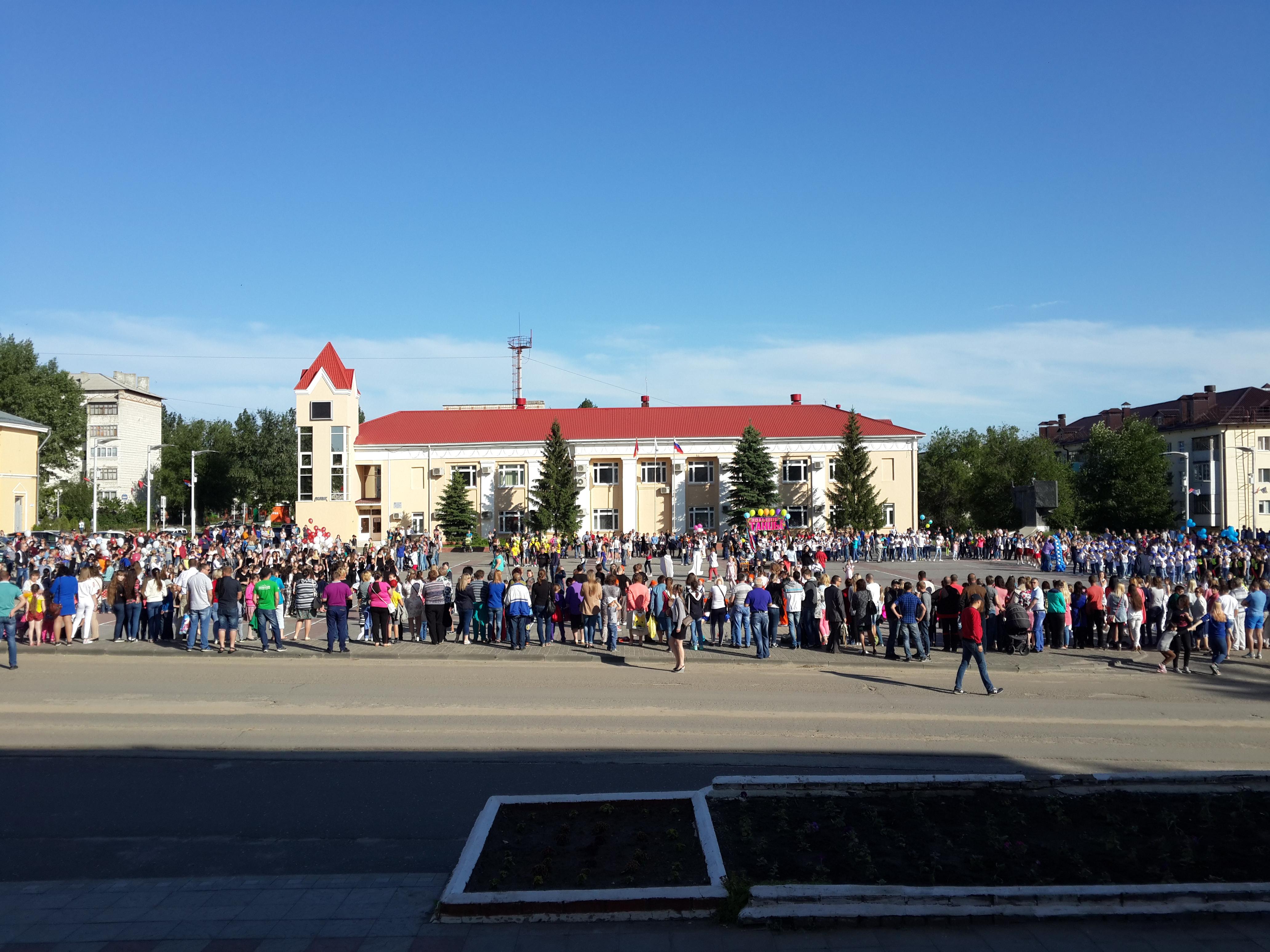 Большие танцы — 2016 в Жирновске!